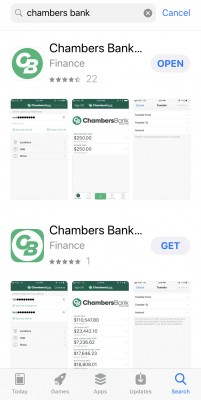 Chambers Mobile Apps